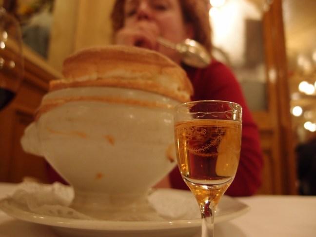 "Souffle at Josephine ""Chez Dumonet"" Paris"