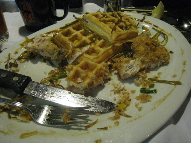 Chicken and Waffles at Hash House, Las Vegas