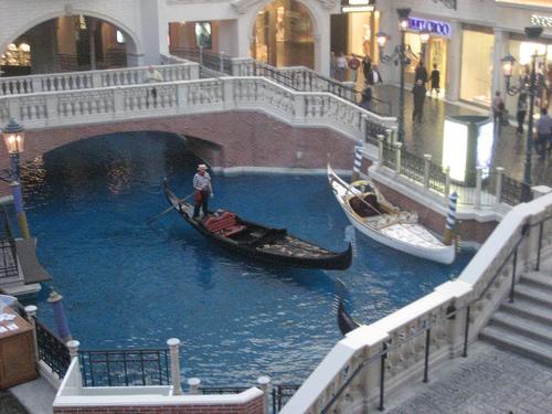 Canal at the Venetian, Las Vegas