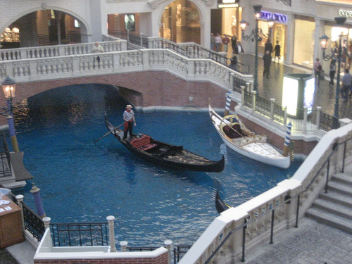 Canal at the Venetian, Las Vegas