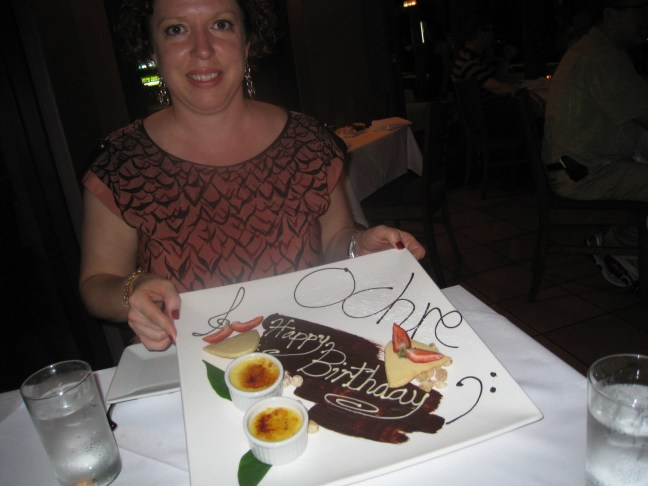 Birthday dinner at Ochre, Cairns