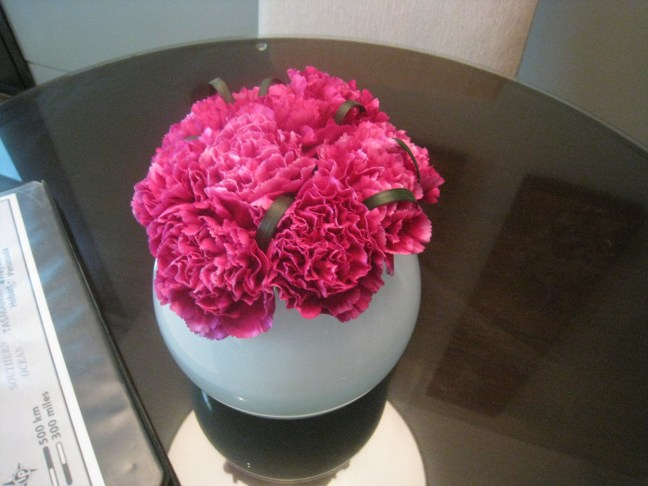 Flowers in the Caroline Astor Suite, St. Regis, Bangkok