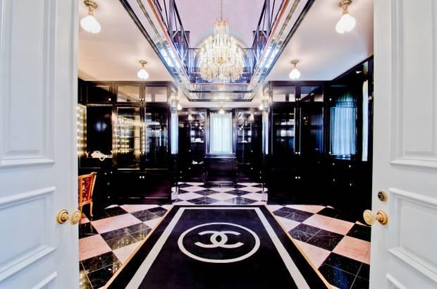 Chanel closet