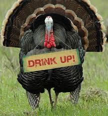 drinking turkey