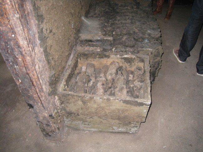 Wine storage at Lopez de Heredia
