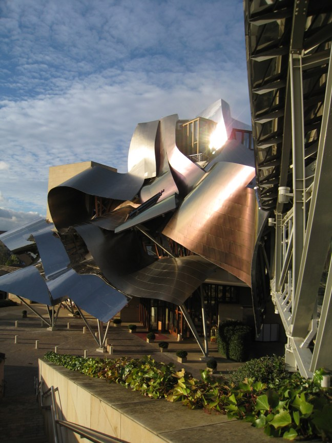 Marques de Riscal hotel and winery, Rioja, Spain