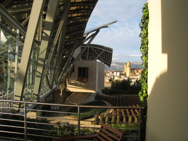 walkway 2 at Marques de Riscal