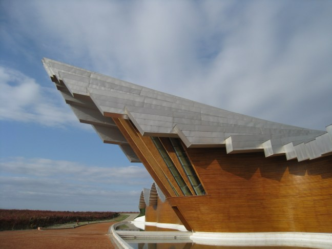 Ysios winery, Rioja, Spain