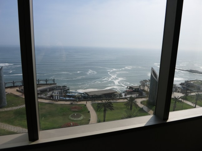 View from the JW Marriott in Miraflores, Lima, Peru