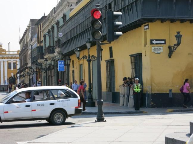Police in Peru