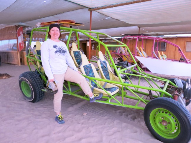 Sand duning in Paracas