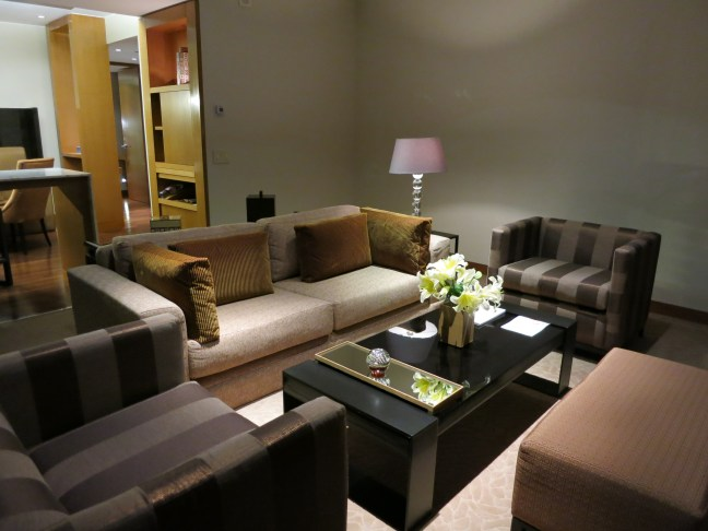 Living room at the Westin Lima Hotel and Convention Center