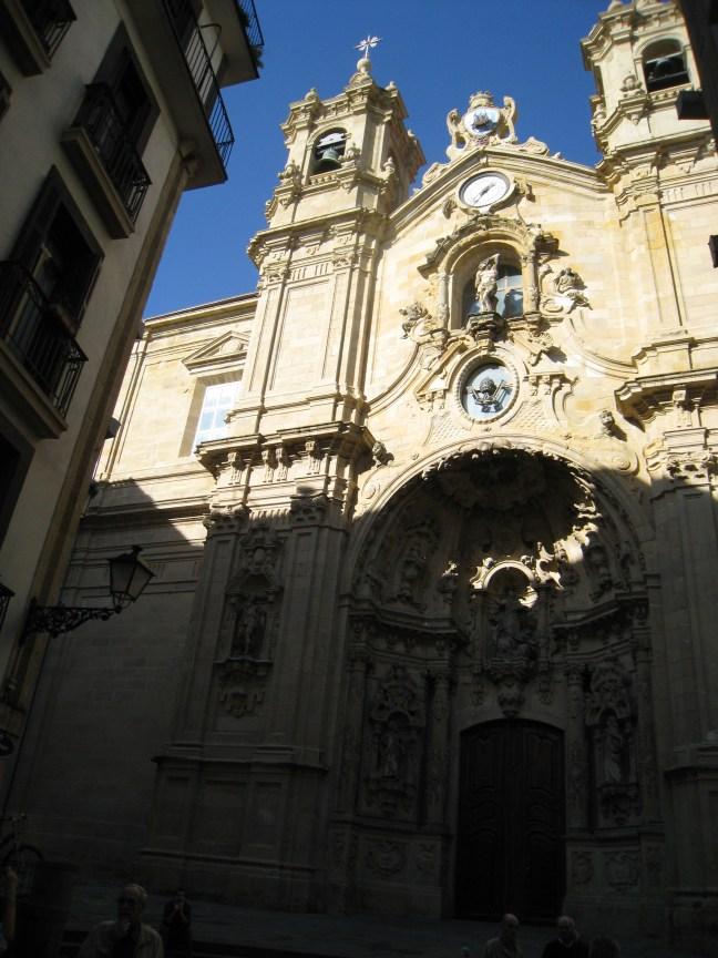 Church in San Sebastian