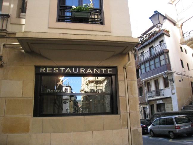 Koktxa restaurant, San Sebastian, Spain