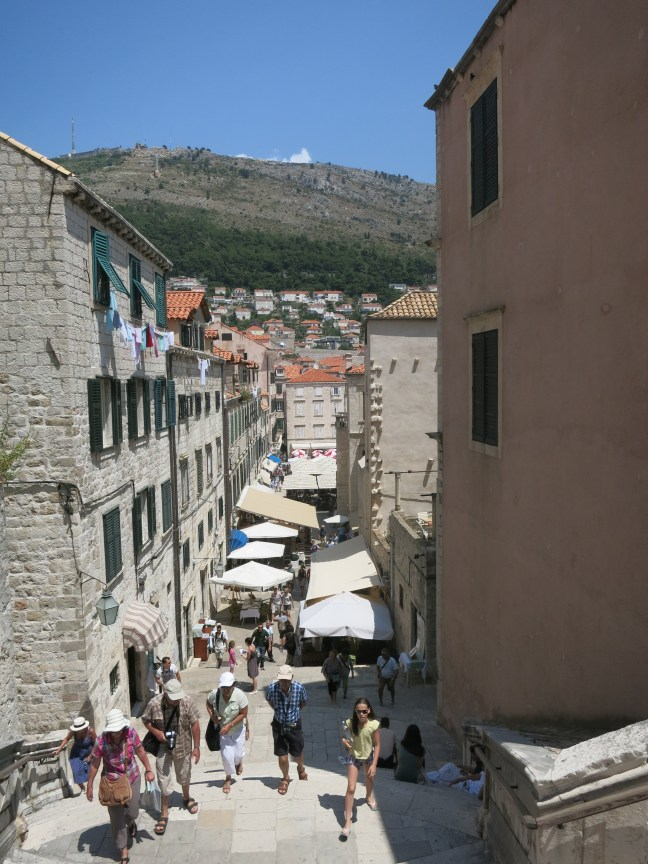 Streets of Old Town, Dubrovnik, Croatia