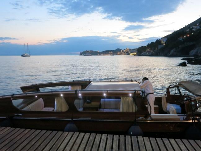 Boat at Villa Dubrovnik