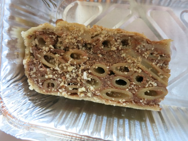 Pasta cake at Bota Sare, Ston, Croatia