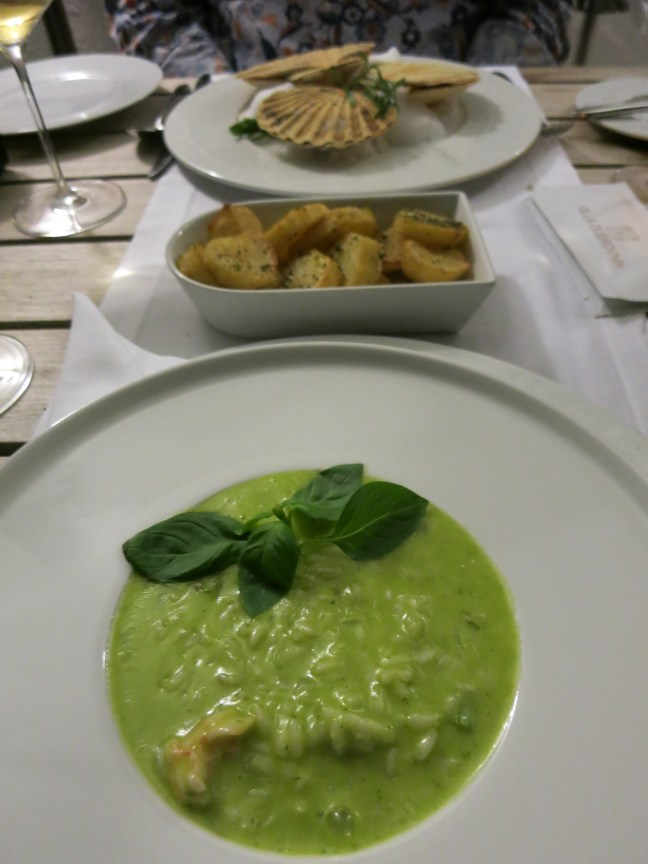 Delicious risotto at Villa Dubrovnik, Croatia