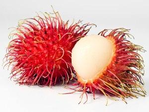Rambutan - the hairy, scary Balinese fruit