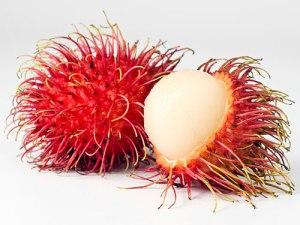Rambutan - the hairy, scary Balinese fruit