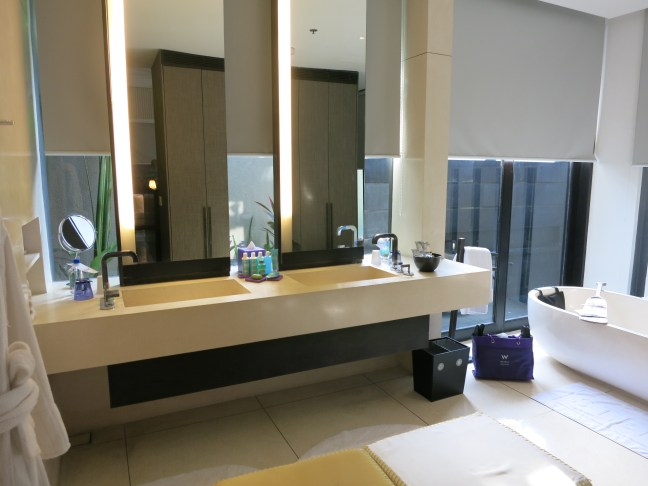 Bathroom at the W Hotel Bali