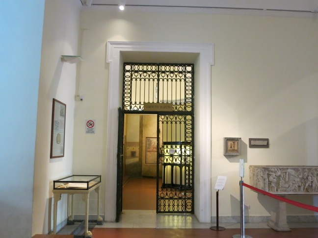 Not-so-secret room at the National Archaeological Museum