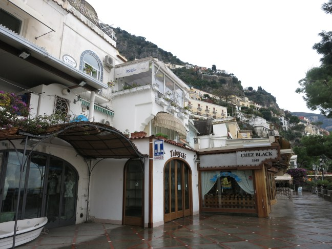 Positano in winter