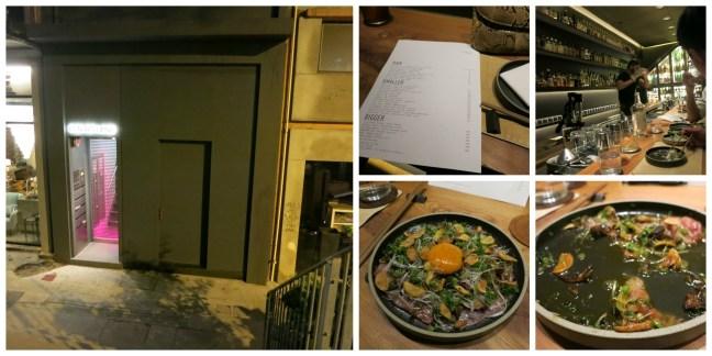 Dinner at Ronin in Hong Kong