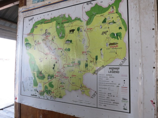 cambodian map