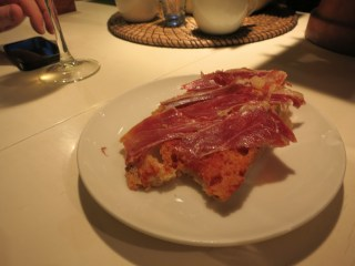 Bilbao - Gozatu pan con tomate y jamon