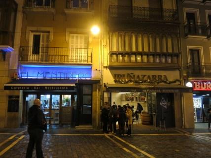 Pamplona - El Mentidero and Irunazzarra