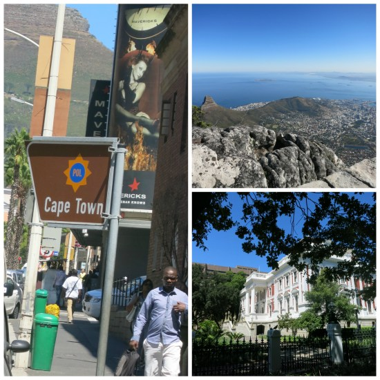 Cape Town collage