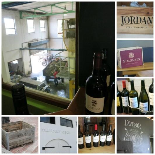 SA Wine Collage