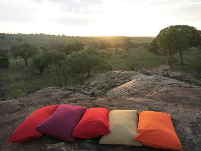Sundowner at Lemala Kuria Hills, Serengeti, Tanzania
