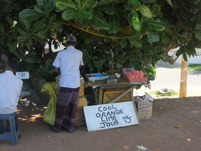 Vendor in Galle