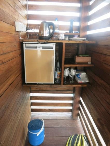 Pemba underwater room - kitchen