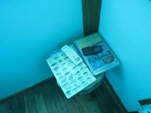 Pemba underwater room - reading