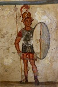 Roman soldier/ armor of Christ