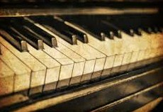 les touches de piano