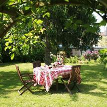 déjeuner au jardin