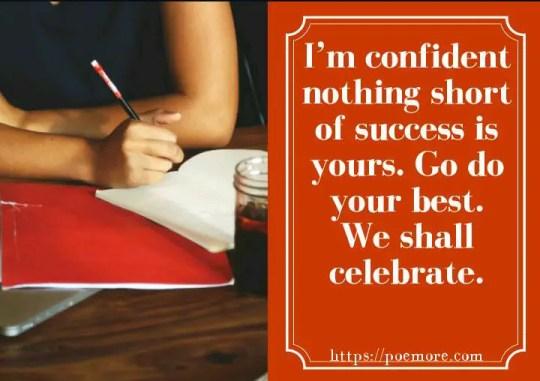 Exam Motivation For Success