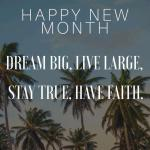70+ Top New Month Messages and Prayers for Lovers & Loved Ones