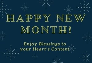 new month congratulatory messages