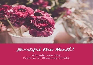 Happy New Month Blessings