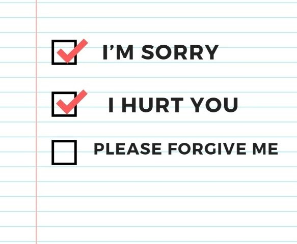 sincere apology love messages