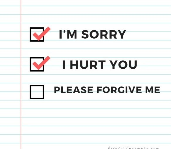 Best Deep Apology Love Messages For Him or Her