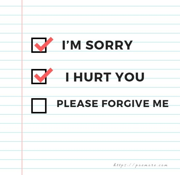 Apology Quotes For Him or Her
