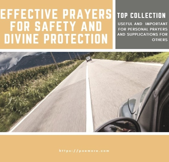 Prayers For Protection and Safety Travel and Scriptures For Loved Ones