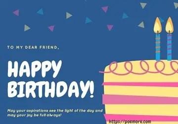 Happy Birthday Prayers for Friends