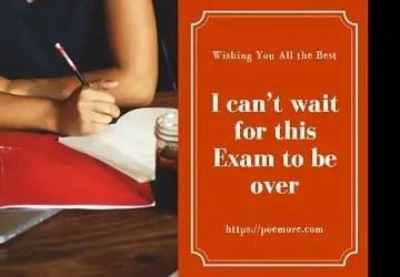 Exam Success Wishes